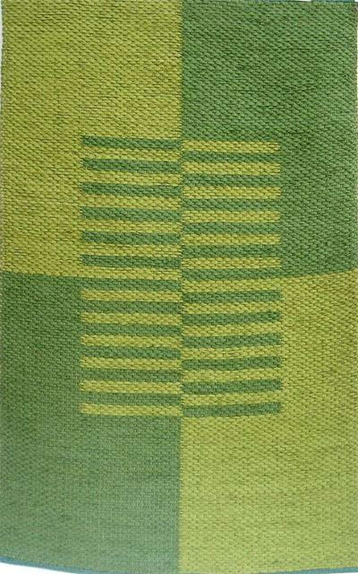 One of Jane Doyle's rugs.