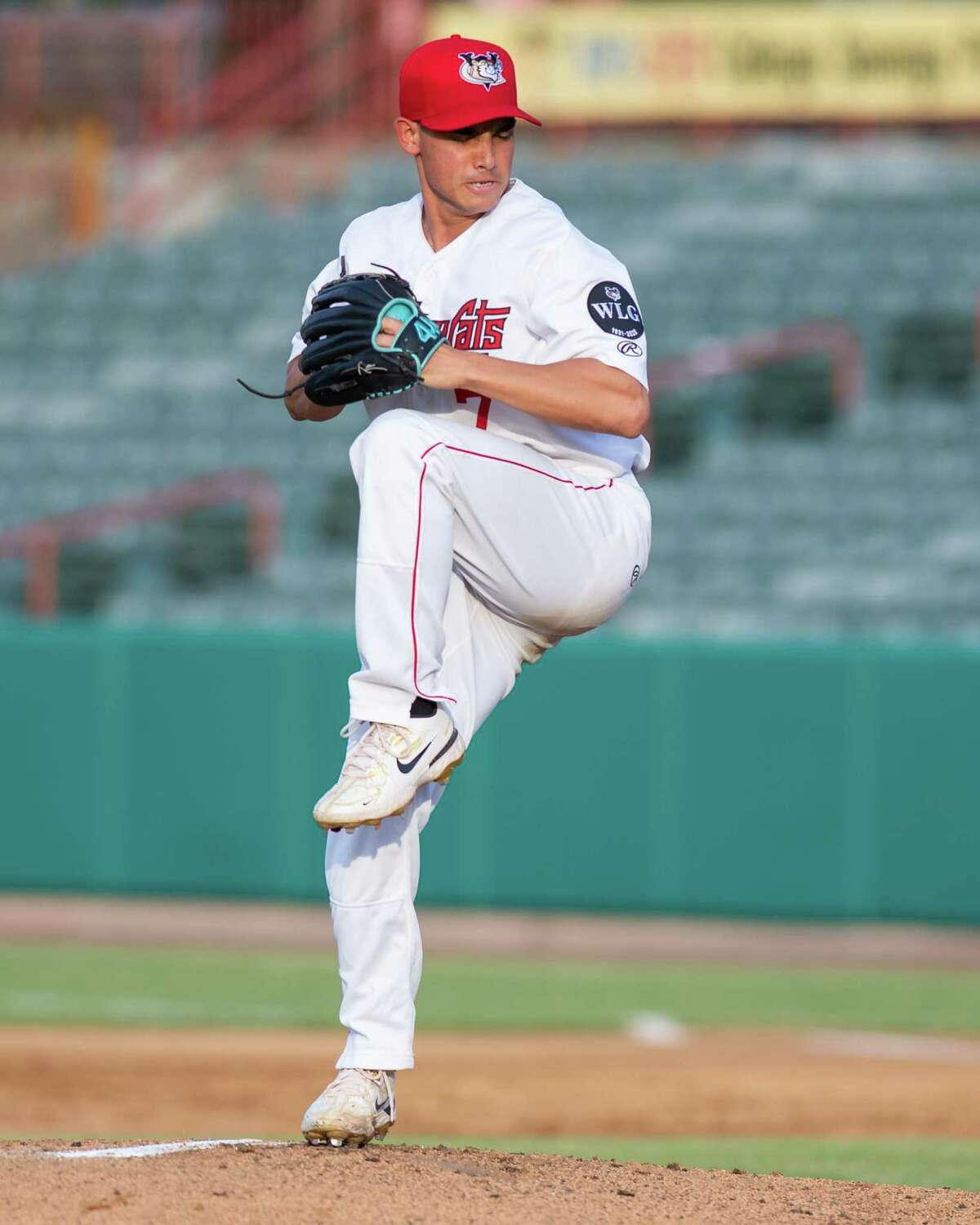 Tri-City ValleyCats starting pitcher Troy Cruz during a game against the Washington Wild Things at the Joseph L. Bruno Stadium on the Hudson Valley Community College campus in Troy, NY, on Saturday, June 26, 2021 (Jim Franco/Special to the Times Union)
