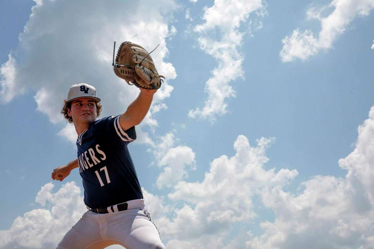 Smithson Valley pitcher, Brandon Taylor, is the 2021 Express-News Player of the year.