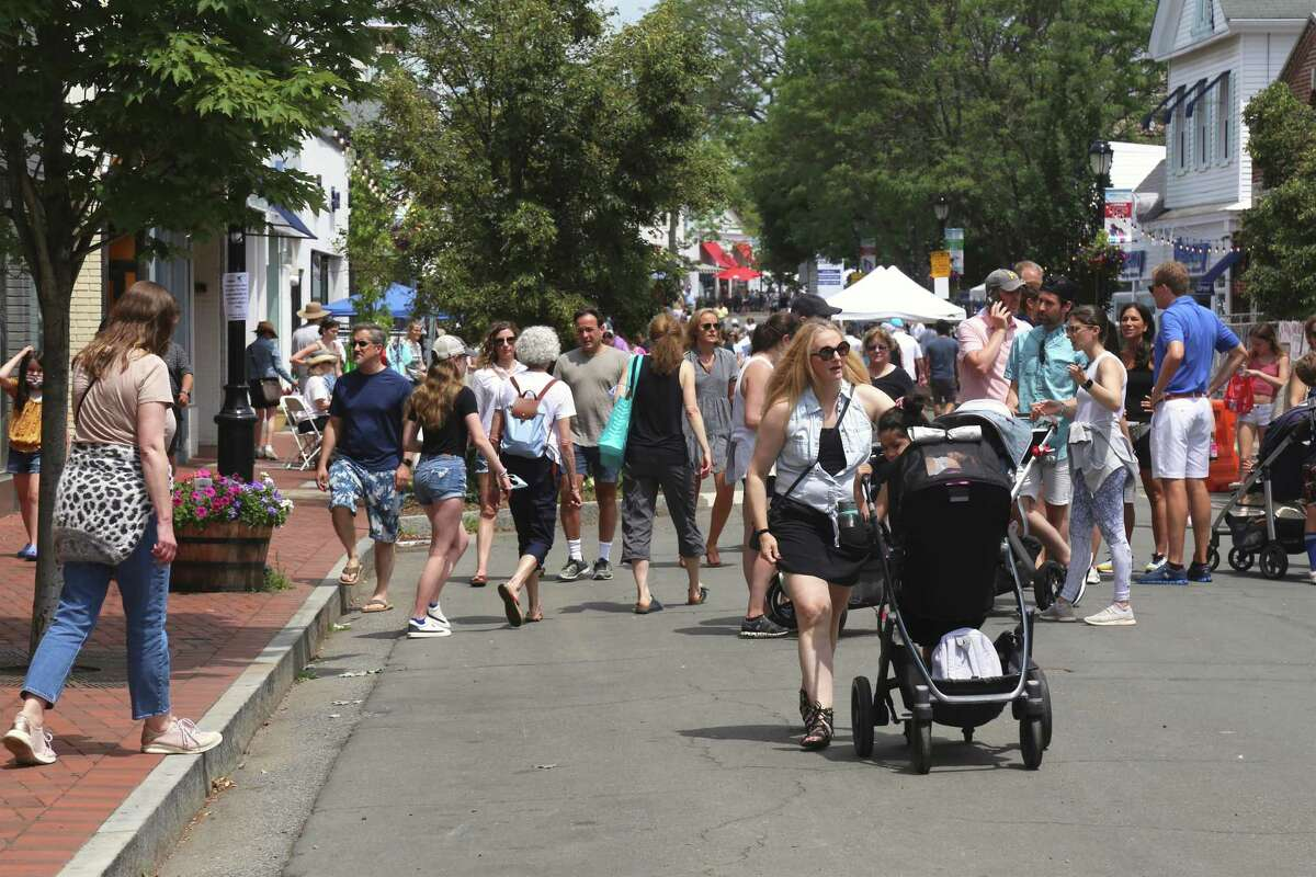 Main Street was closed down for the Sidewalk Sale on Saturday, June 26, 2021.