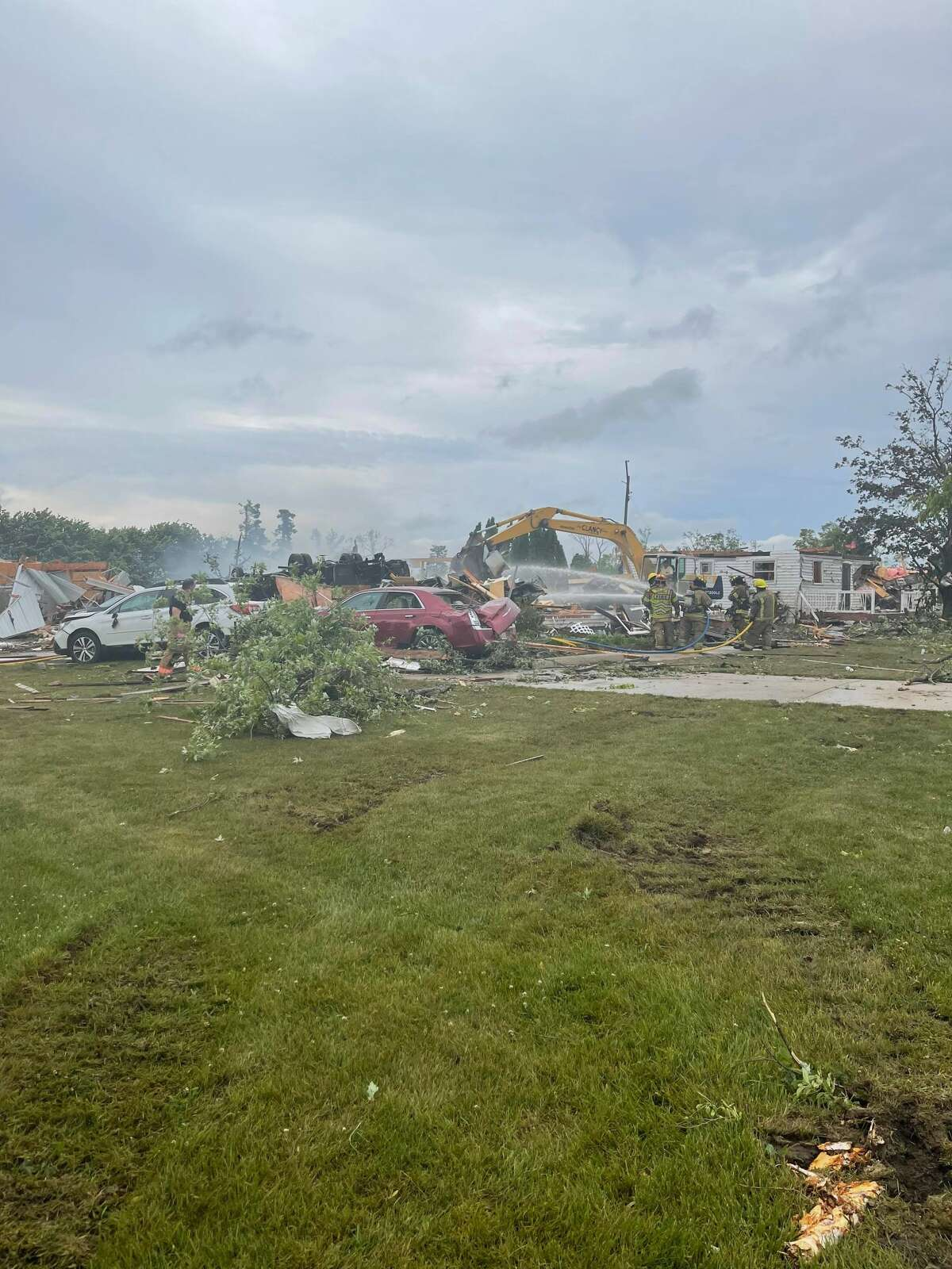 Dozens of homes and properties were damaged by the tornado June 27.