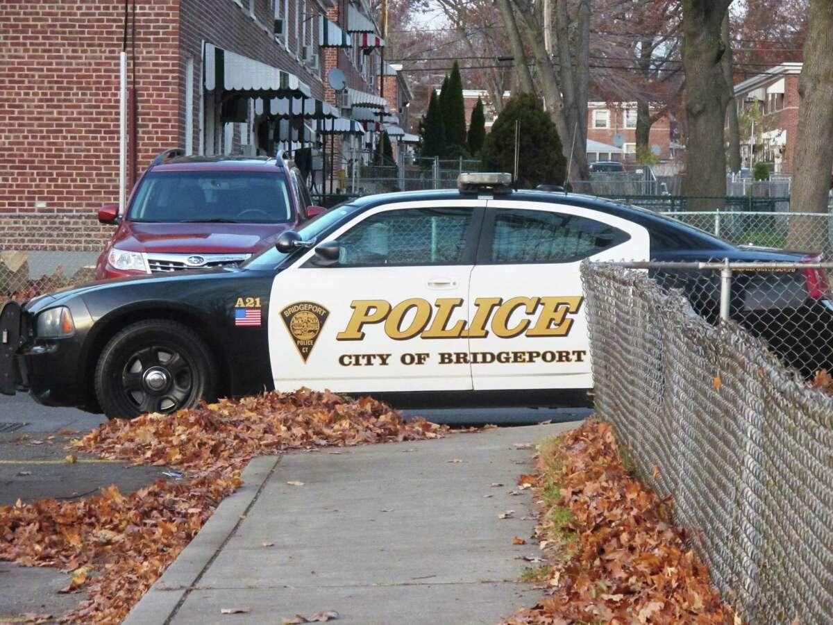 Bridgeport Police car