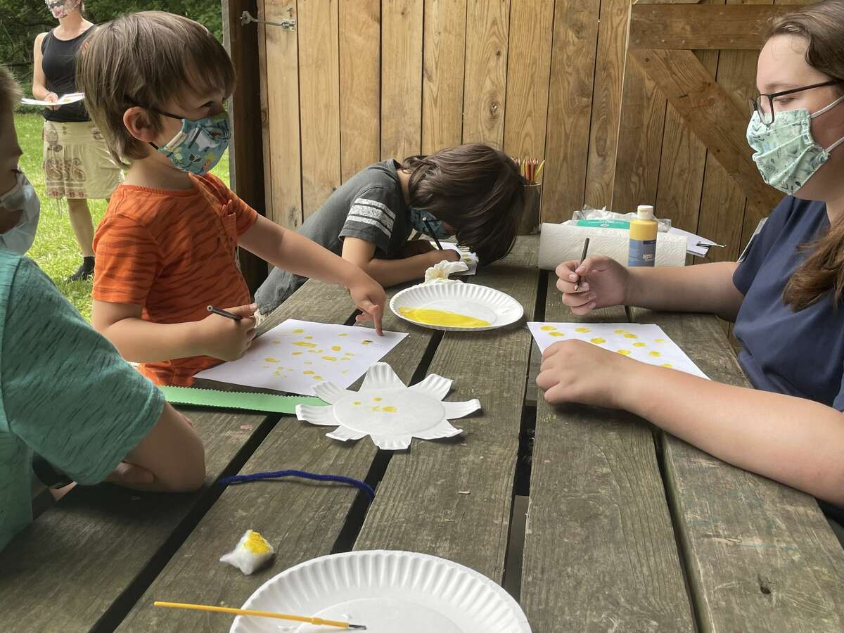 The Homestead Sundays event at the Chippewa Nature Center features weekly themes. The theme for the June 27 event was bees and pollination.