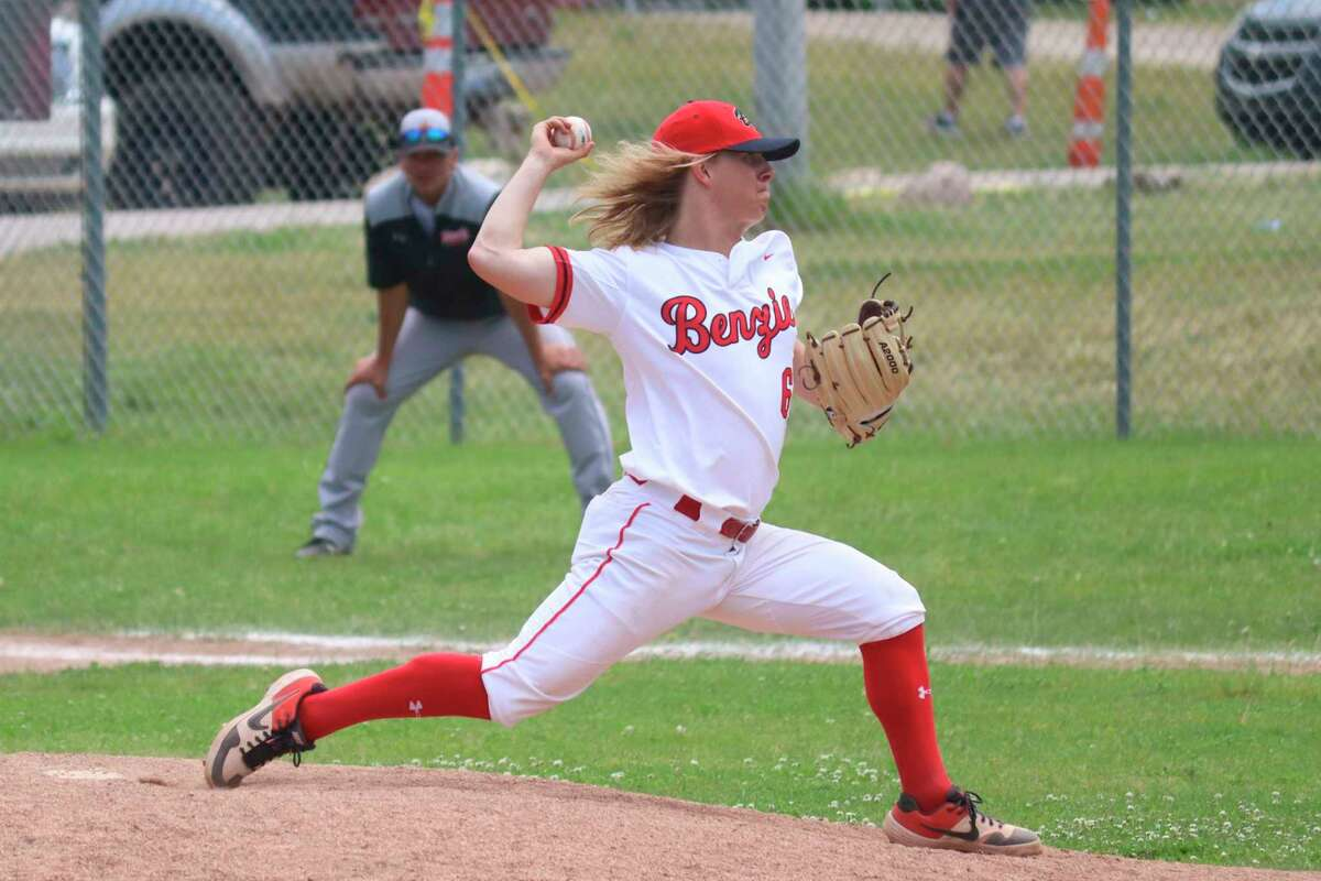 Dylan Bates put up strong pitching numbers and a was a doubles machine on offense this spring. (Record Patriot file photo)