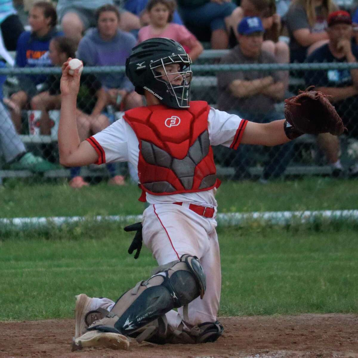 Danny Wallington made first team all-conference this year as a freshman. (Record Patriot file photo)