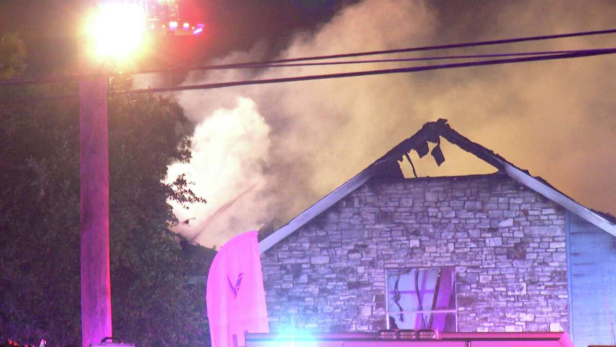 Two dozen people have been displaced from their homes after a fire broke out in an apartment building on the Northwest Side early Monday morning.