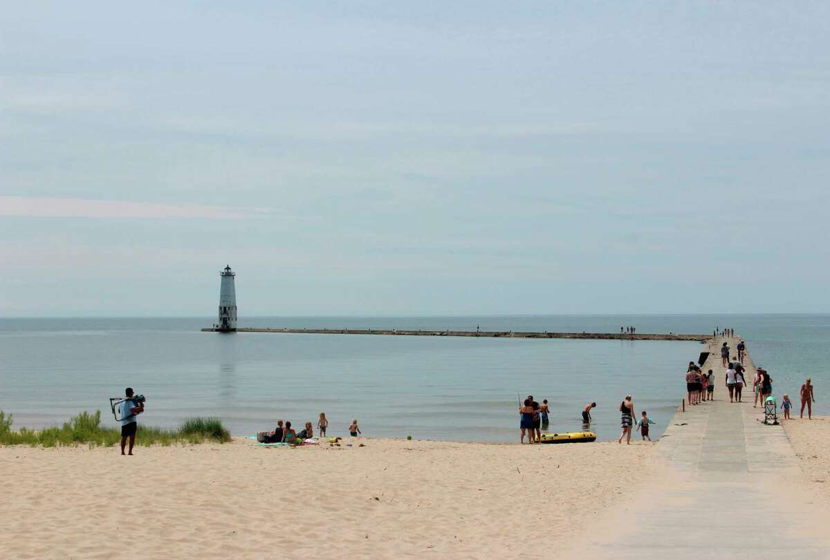 The City of Frankfort has created theLake Michigan Beach Restroom Subcommittee to look at where bathroom facilities for the beach would be best placed. (Colin Merry/Record Patriot)