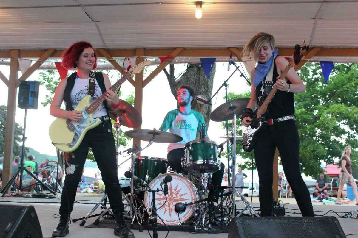 The Accidentals will be returning to Beulah for a free performance, but will be paying in downtown Beulah, instead of Beulah Park (as pictured). (File Photo)