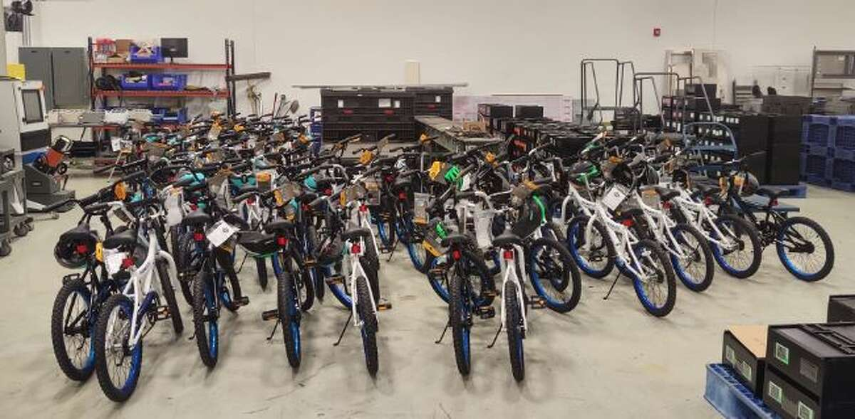 Cummins SOFC, a power systems company in Malta, has donated 60 bicycles with helmets and locks to the Franklin Community Center for its students that participate in Project Lift.