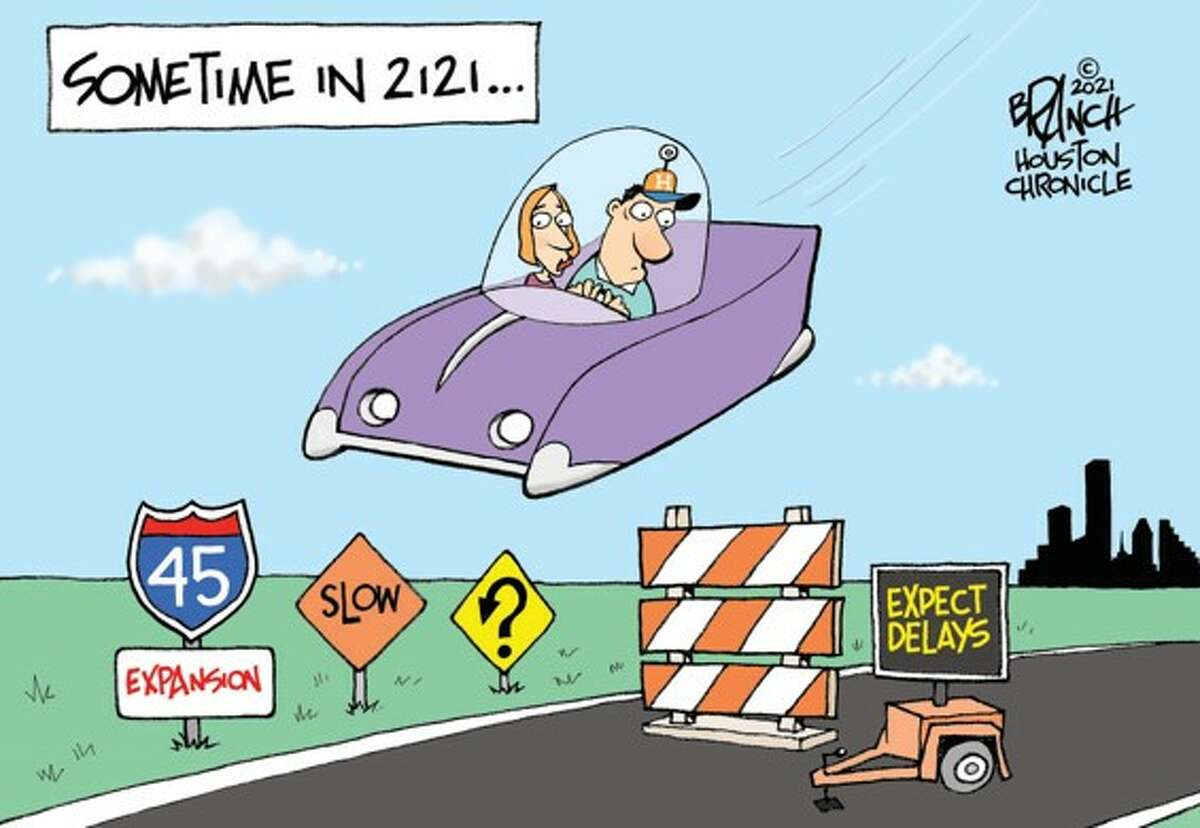 Today's editorial cartoon is by John Branch.