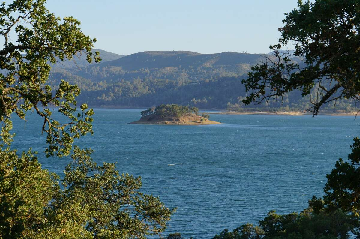 Lake Berryessa in Napa, Calif.