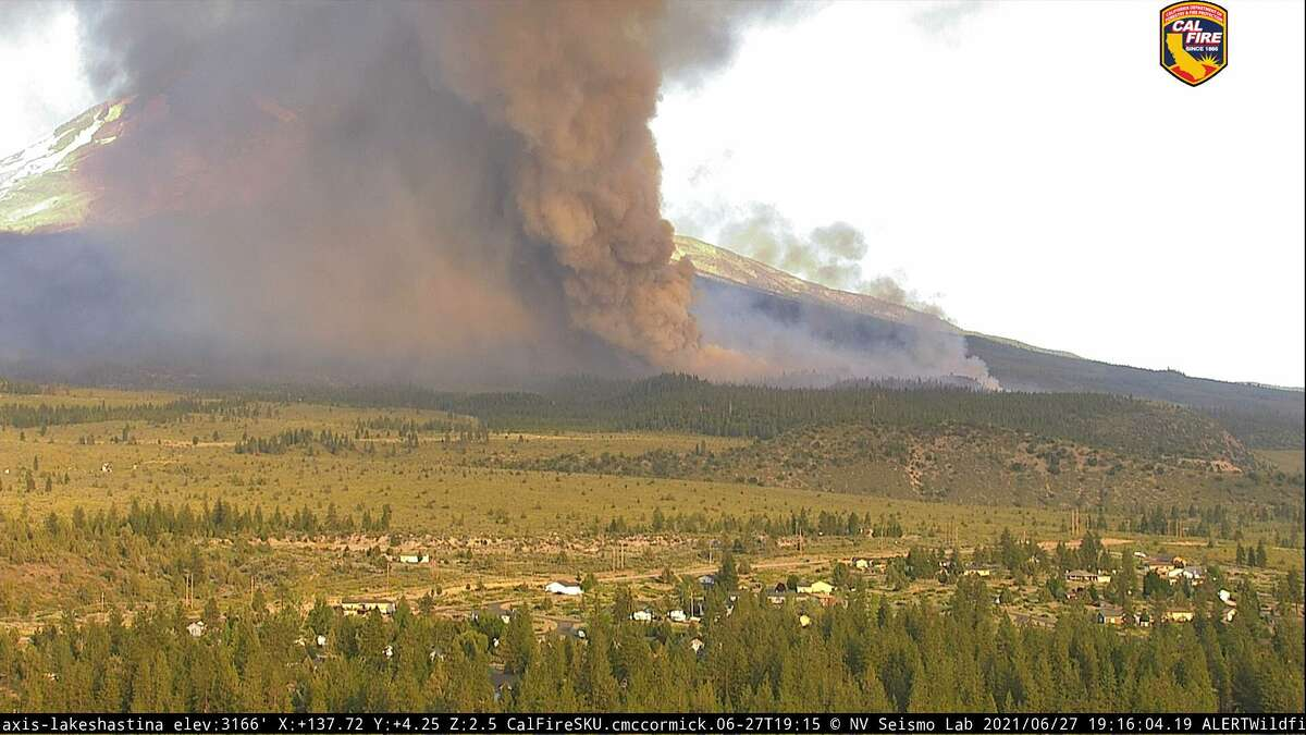 The Lava Fire started near the community of Weed on June 25, 2021.