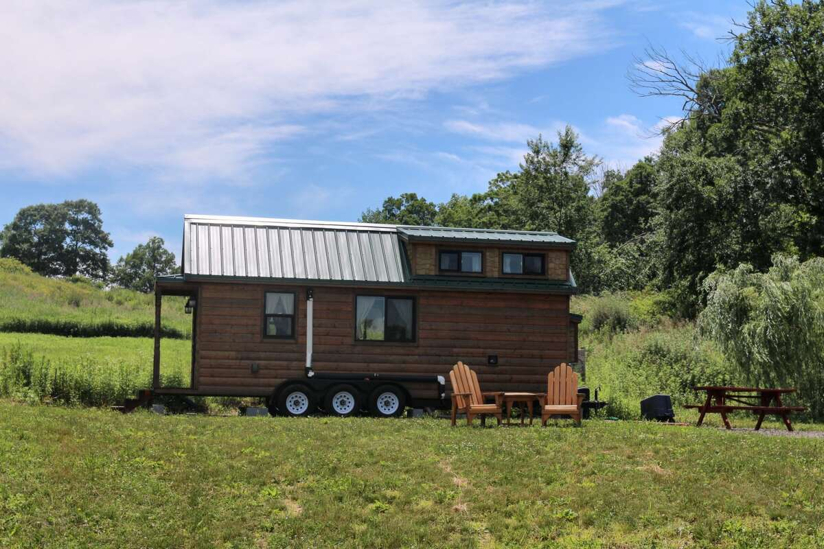 Waystone Farm and tiny house Airbnb in Guilford on June 20, 2021.