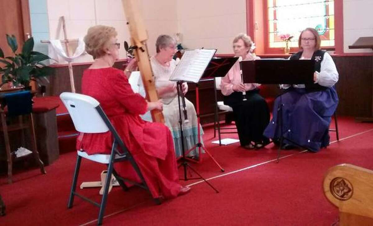The Pike Pipers will perform music from 1820 to 1920 as part of the New Philadelphia Association's annual lecture series.