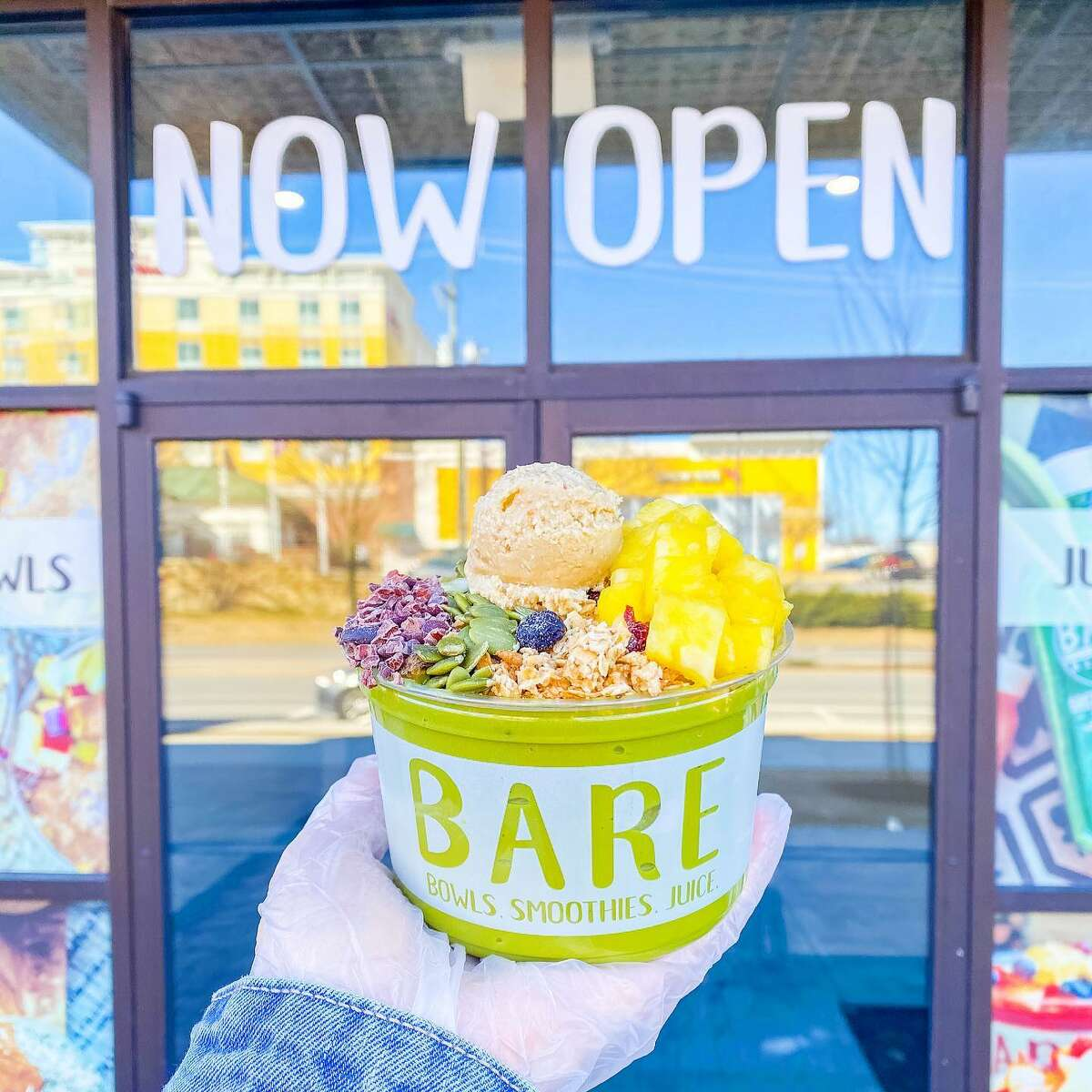 Bare Blends is a local chain of smoothie, juice and bowl, shops. The company's latest location is opening this summer in Glenmont.
