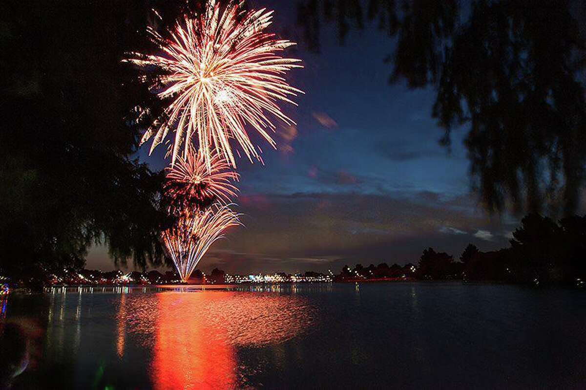 Fourth of July fireworks are returning to Woodlawn Lake Park.