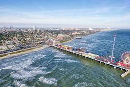Galveston beaches are free, although Stewart Beach costs $15 to enter.
