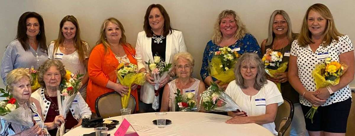 The Torrington Woman's Club held its first meeting in more than a year June 24, honoring longtime members and welcoming new ones. The club, which was about to disband in 2020, revived its membership and is holding monthly meetings at the Green Woods Country Club.