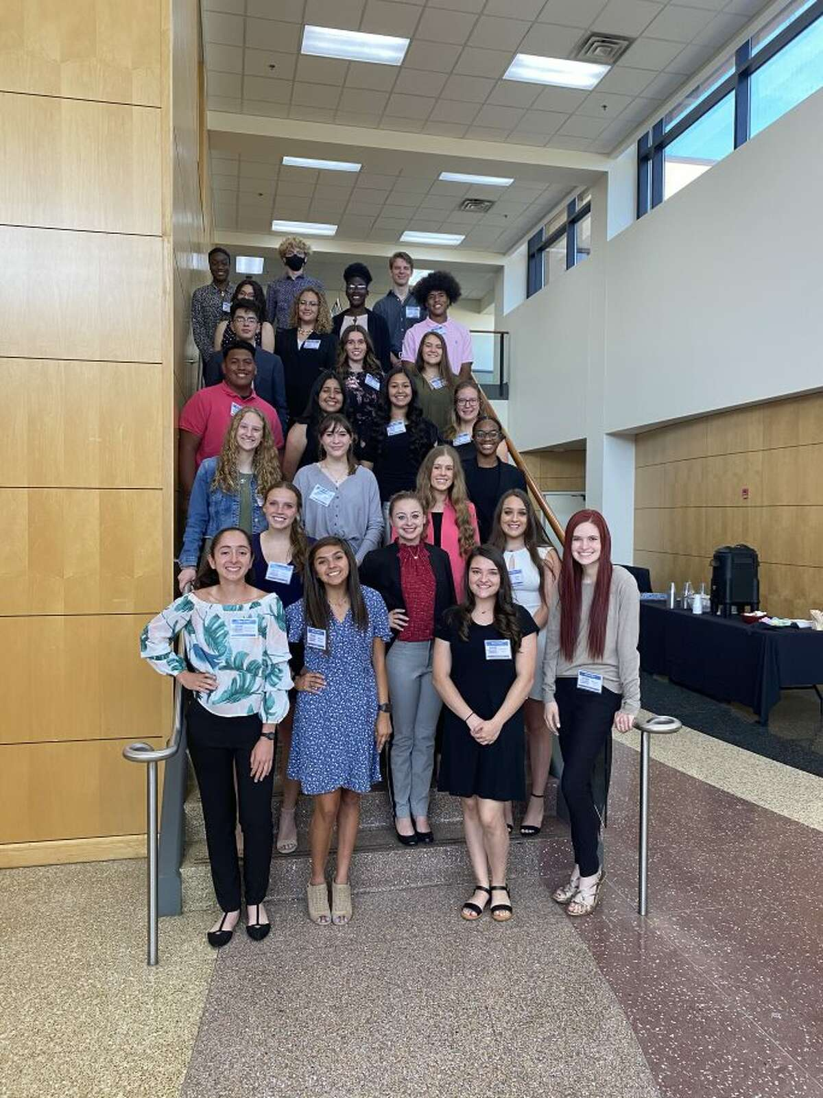 Midland Young Leaders participants