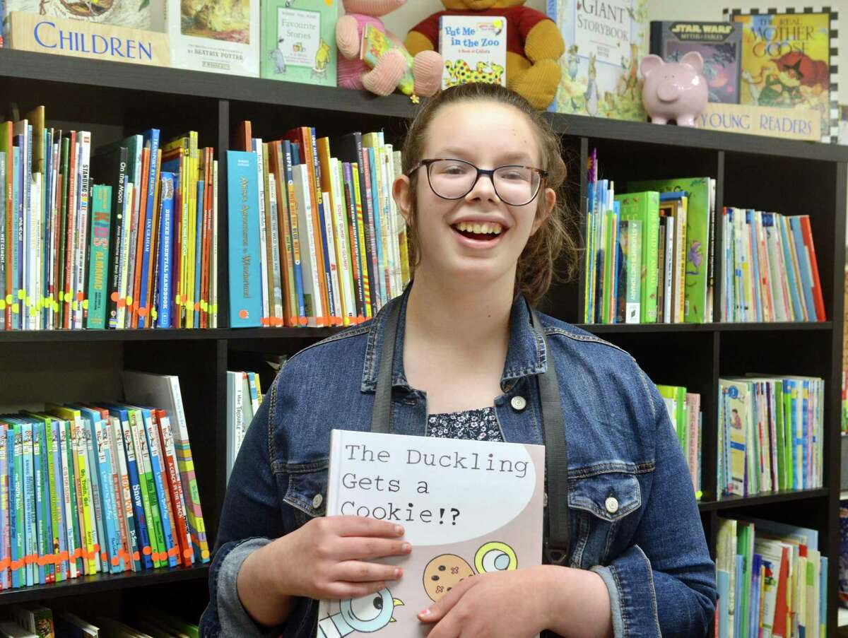 Syd Daggett, a 16-year-old who is on the autism spectrum and is nonverbal, who loves to read. She uses a speech program on her iPad. This is a unique used bookstore with a mission - to use their proceeds to supply tablets with talker programs to individuals unable to speak.