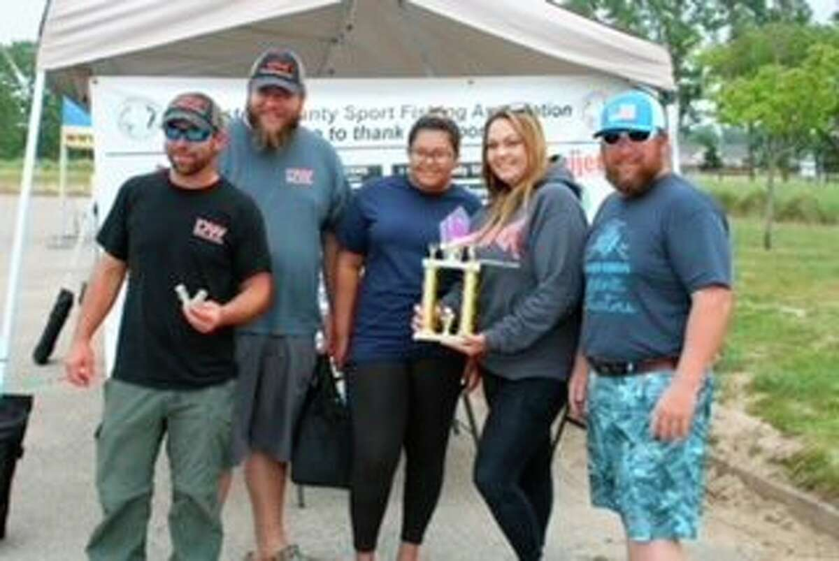 Elsie-K captain Gabe Graham of Manistee took first place in the Budweiser Pro division. (Courtesy photo)