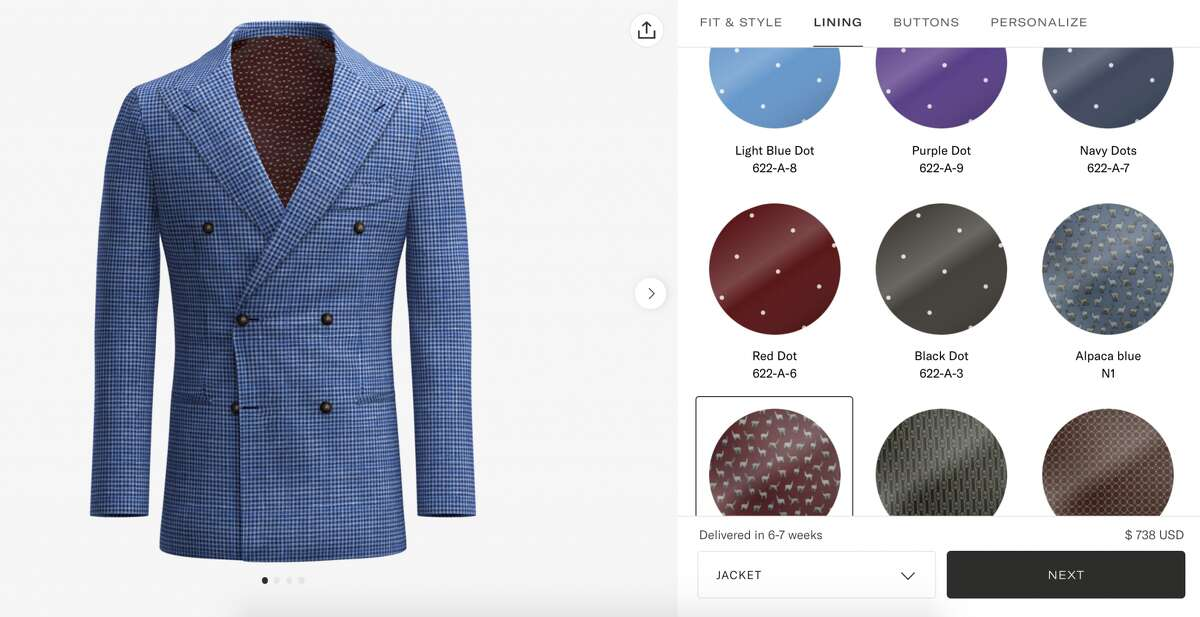 Suitsupply Custom Made suits start at $498