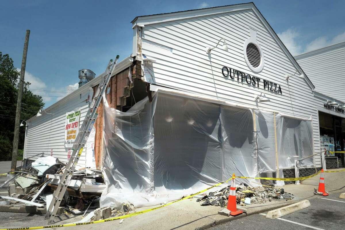 Outpost Pizza, in Westport, Conn. June 28, 2021.