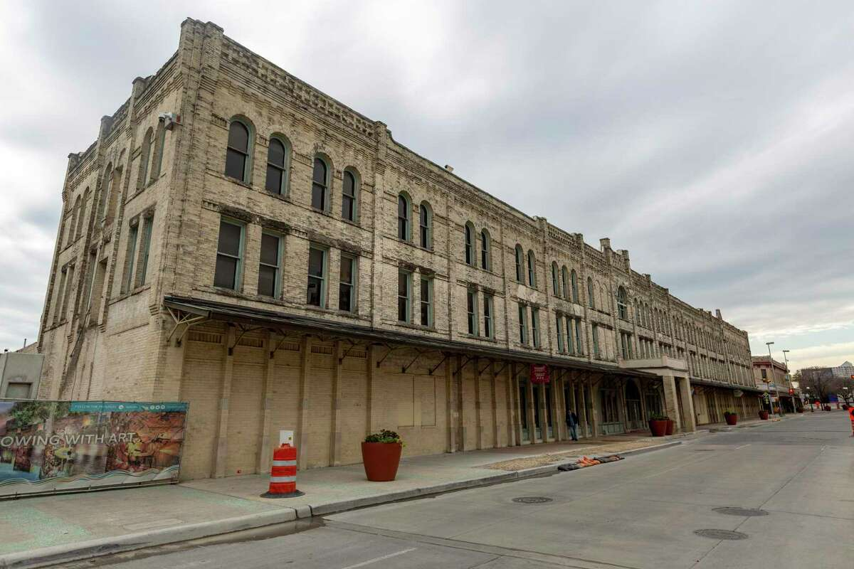 The Continental Hotel property at 322 W. Commerce St. downtown has been vacant since 2016.
