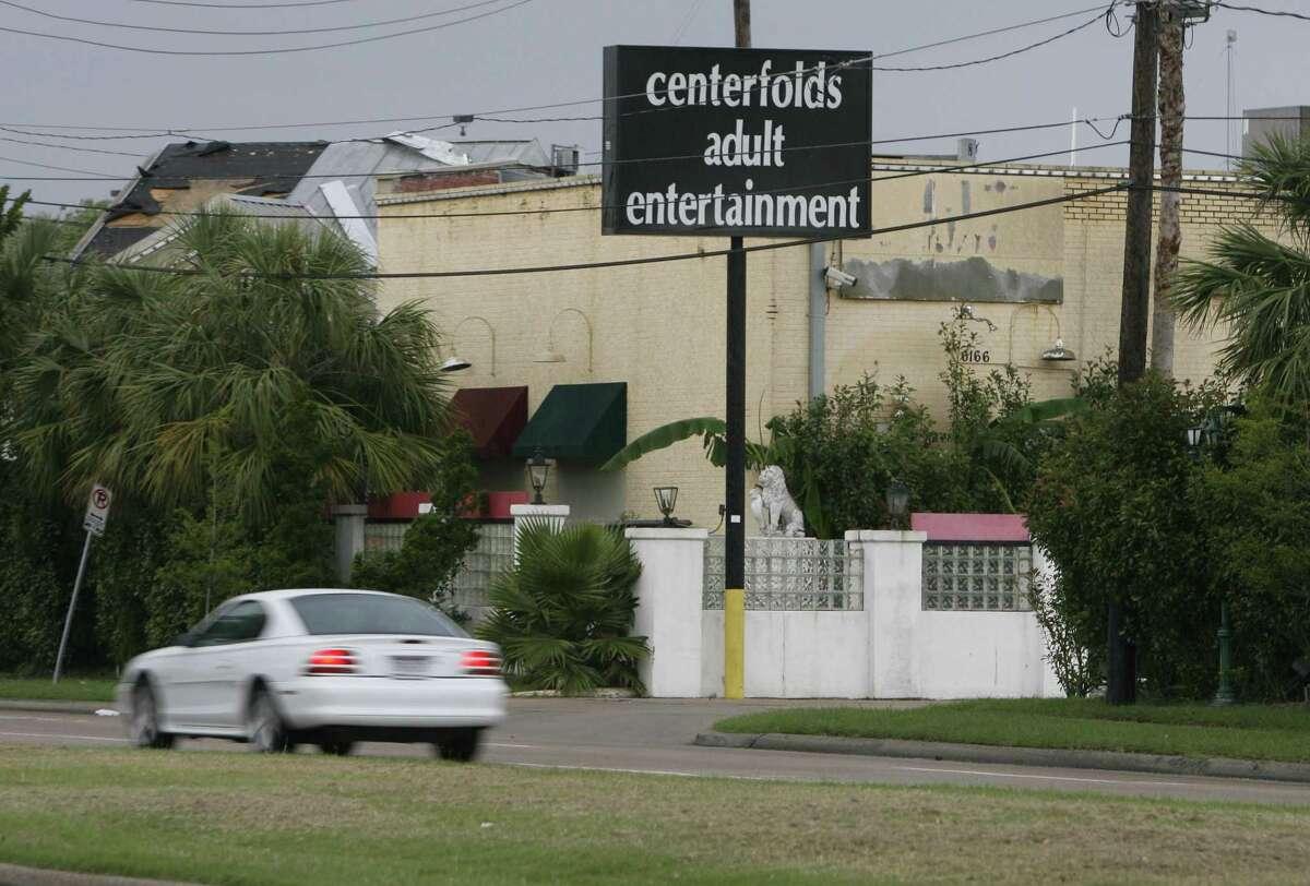 Centerfolds Adult Entertainment on Richmond, Thursday, May 10, 2007.