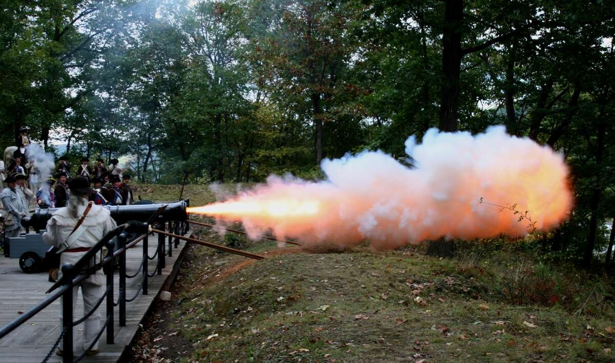 """Many pivotal conflicts during the Revolutionary War focused on gaining control of the Hudson River, and sites throughout the Hudson Valley will be holding commemorative events over the July 4th holiday. Fort Montgomery will be holding its annual Independence Day cannon-firing event, where they will be showcasing the power of """"Ana"""" the fort's 6-pounder cannon."""