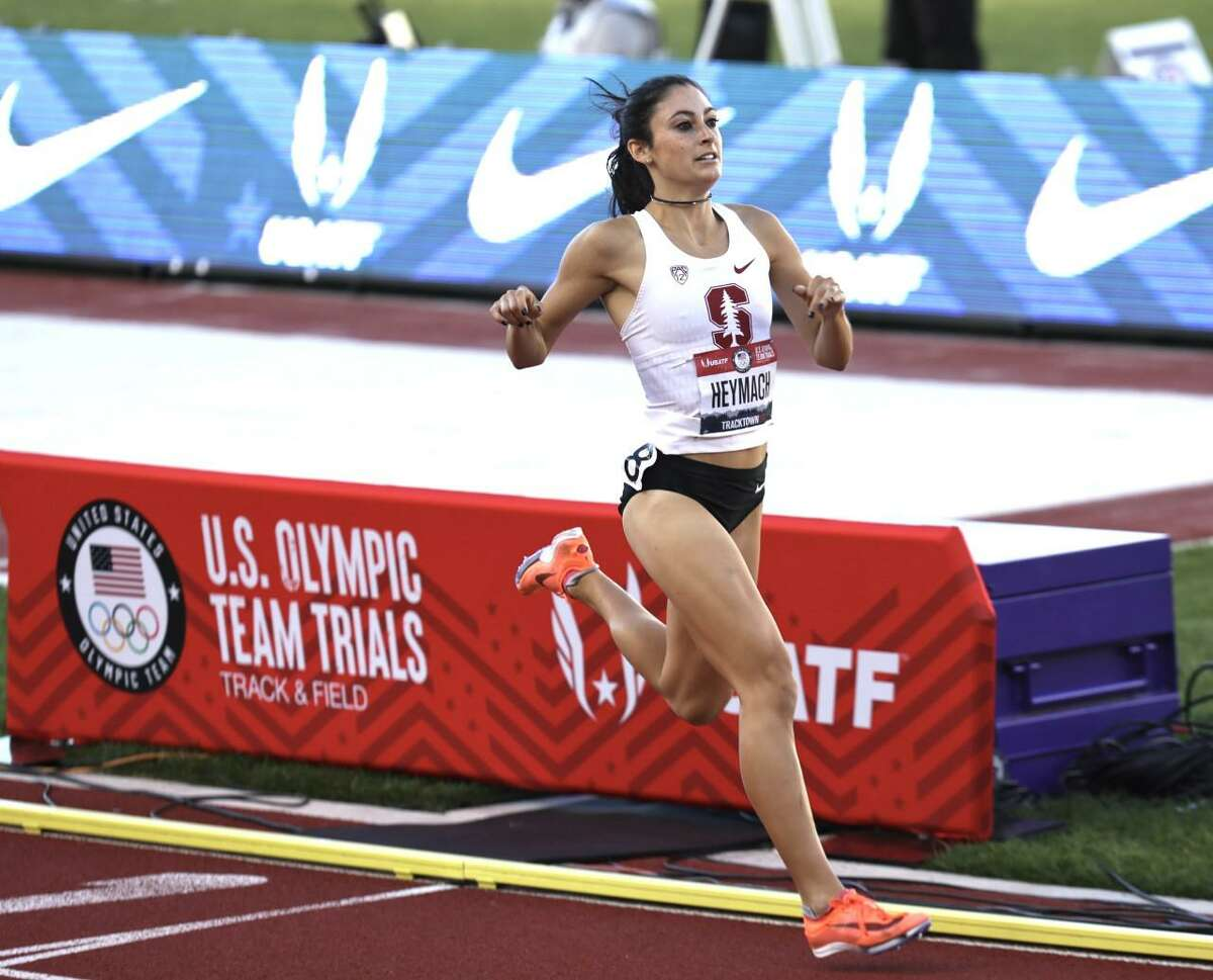 Stanford senior Julia Heymach placed sixth in the 1,500-meter run at the U.S. Olympic Team Trials with a time of 4:04.84 in the finals.