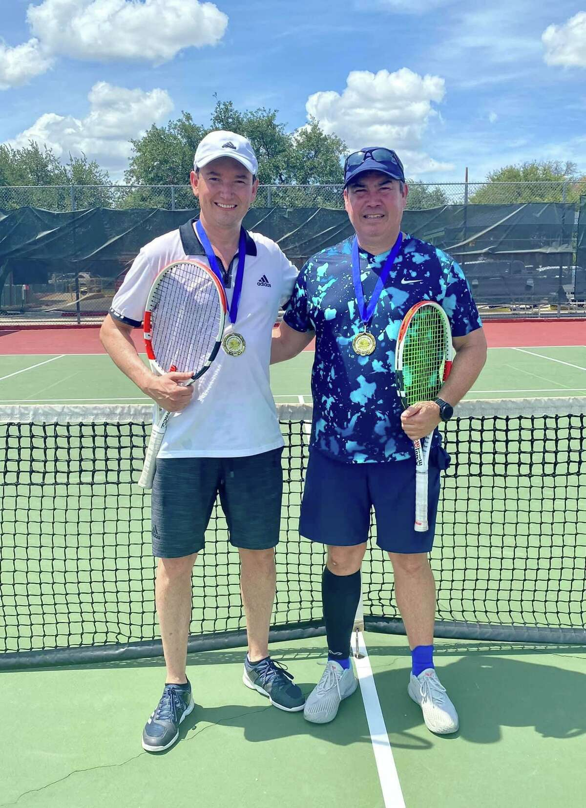 Men's Open Doubles Champions Jorge Gonzalez and Roy Santos