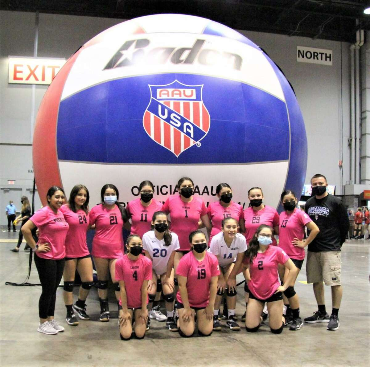 The Laredo Premier 14U Force team went 7-5 at the 48th AAU Junior National Volleyball Championship Tournament held in Florida from June 18-21.