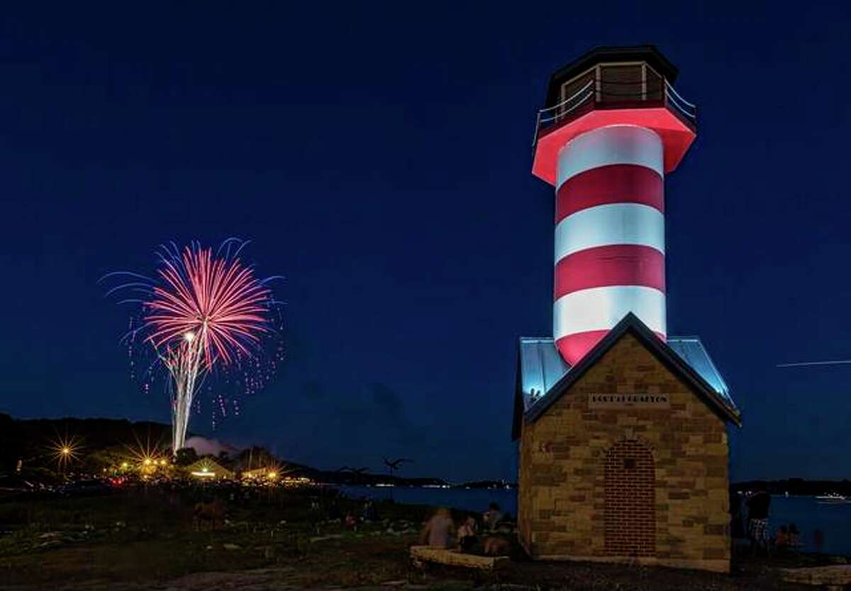 Get out early Friday for entertainment and food specials at local restaurants and Music in the Park at 7 p.m. Then, as the sun goes down, Grafton's Fireworks on the Mississippi River will light up the night sky from 9 to 11 p.m. in the middle of town at Lighthouse Park.
