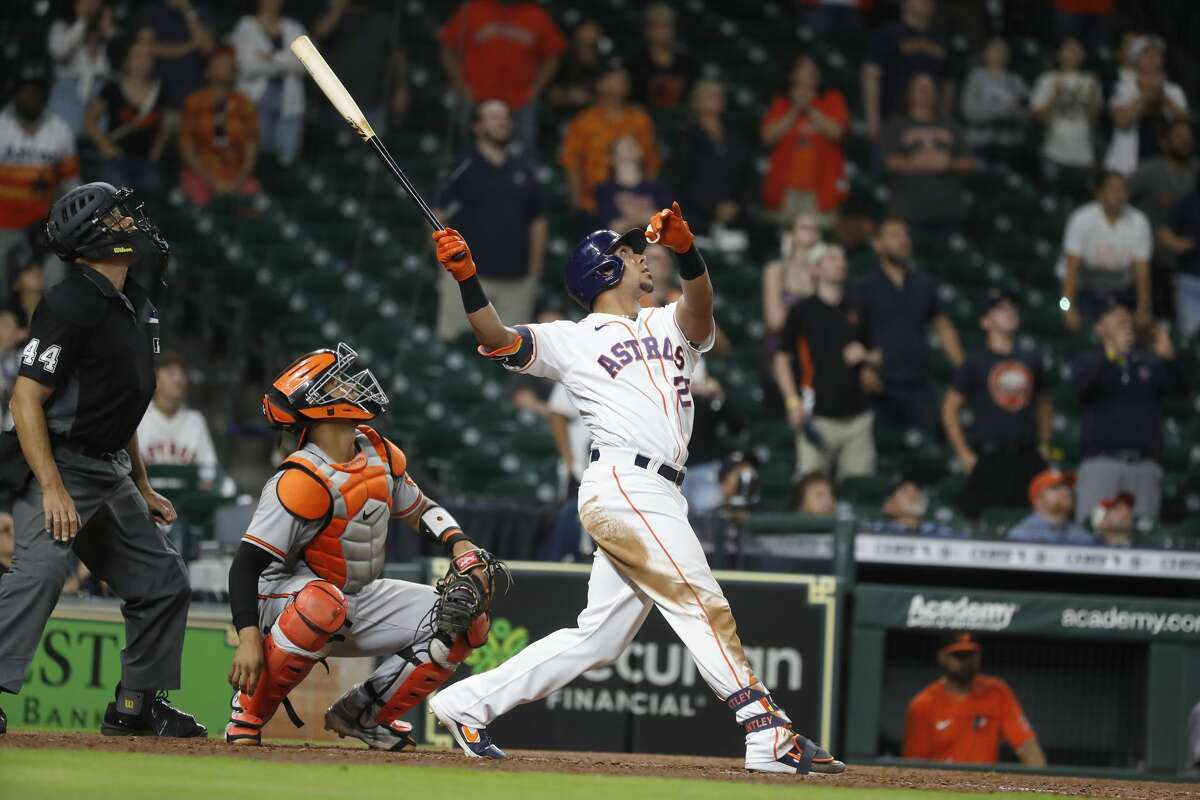 Michael Brantley was one of three Astros who were considered to have the best shot at starting at the All-Star Game.
