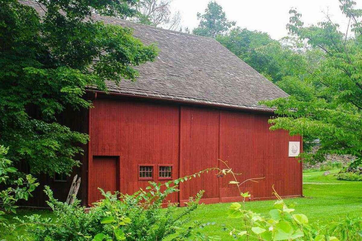 Sherman Historical Society's barn on Route 37 in Sherman, Conn.