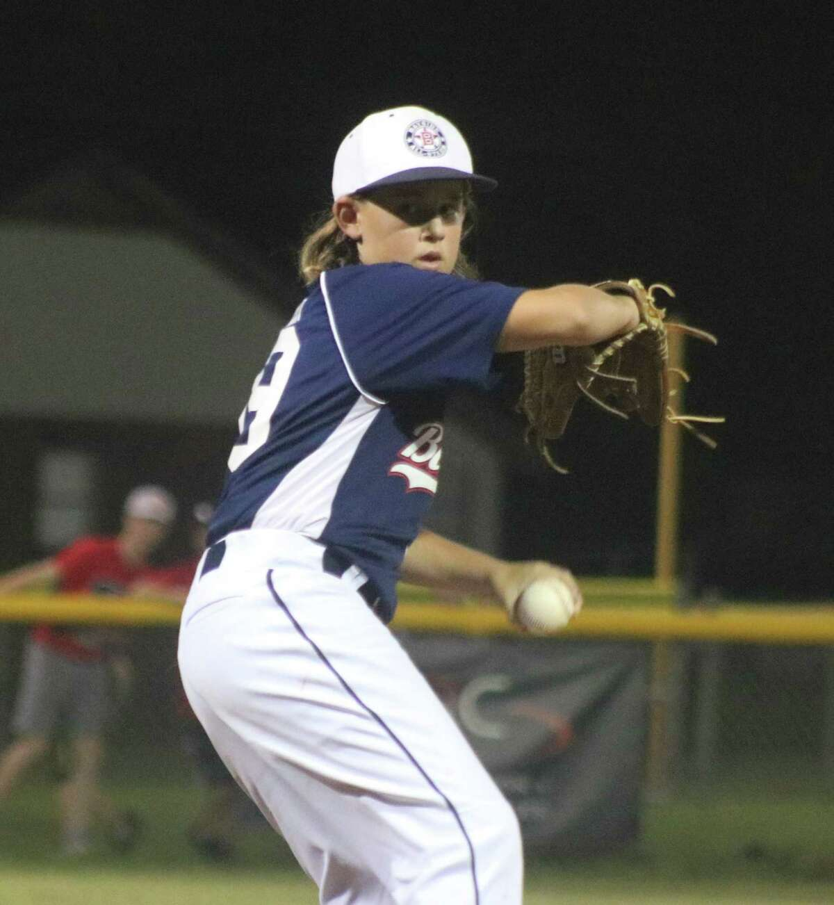 Bayside's Jake Berry worked four effective innings. He managed to prevent three walks in the opening two innings from hurting his cause.
