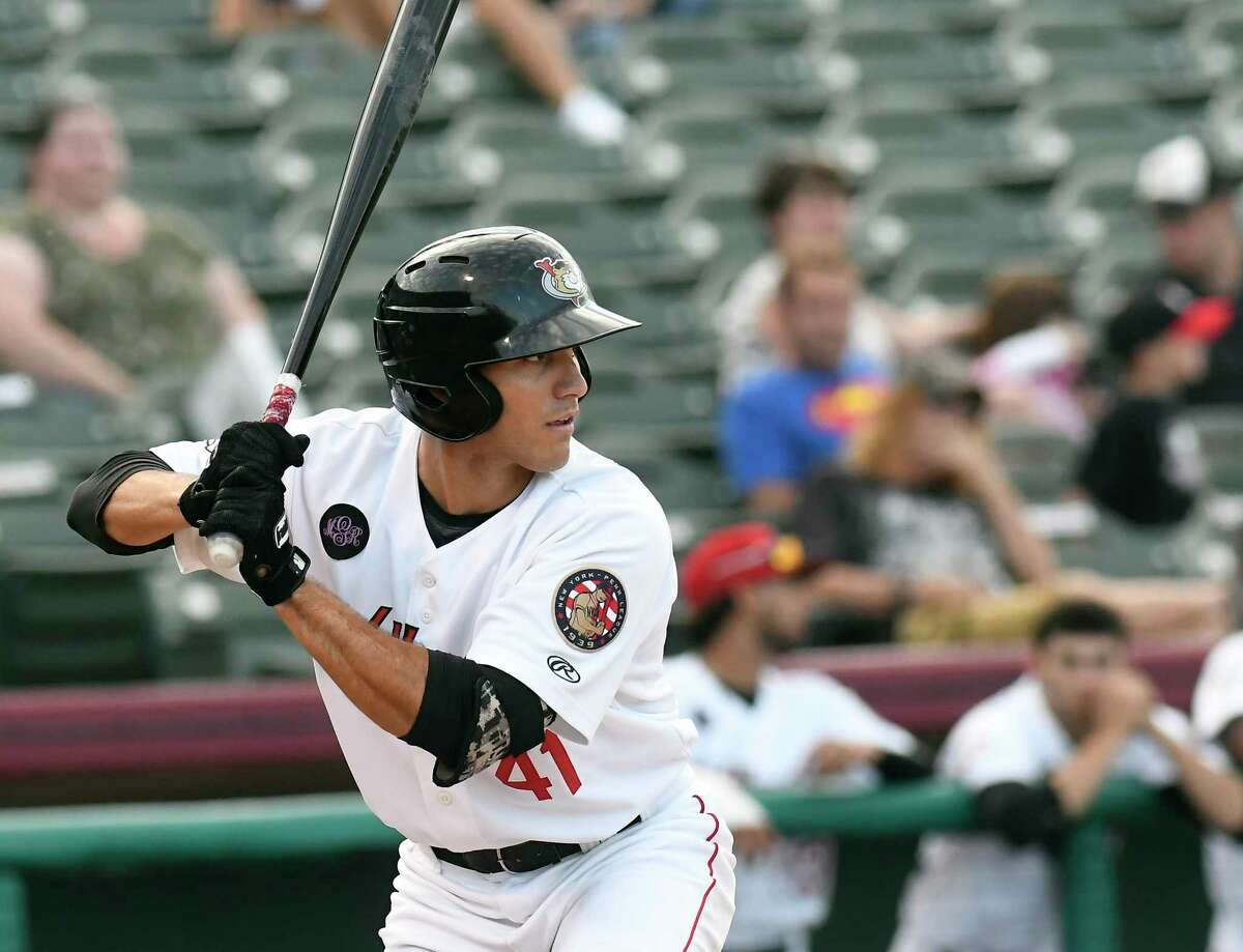 Alex McKenna, shown here with the Tri-City ValleyCats in 2018, is being promoted from High-A Asheville.