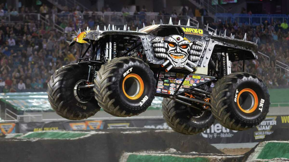 Max-D is one of the trucks that will be featured in Monster Jam during its July 4 weekend run at the Alamodome.