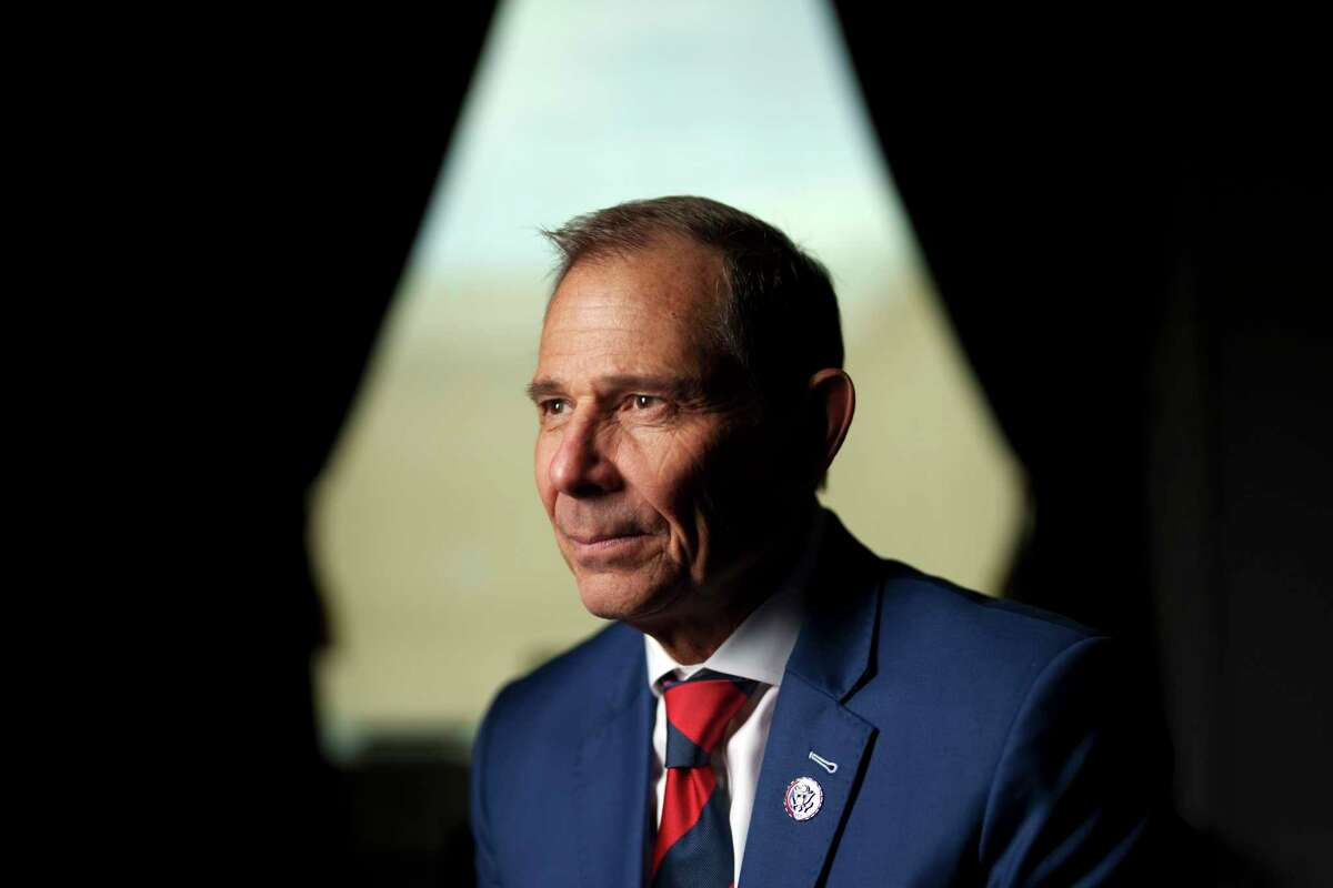 Rep. John Curtis (R-Utah) in his office in Washington on June 15, 2021. A small but growing number of Republicans are coming to terms with what polls have been saying for years: independents, suburban voters and especially young Republicans are worried about climate change and want the government to take action. (Ting Shen/The New York Times)