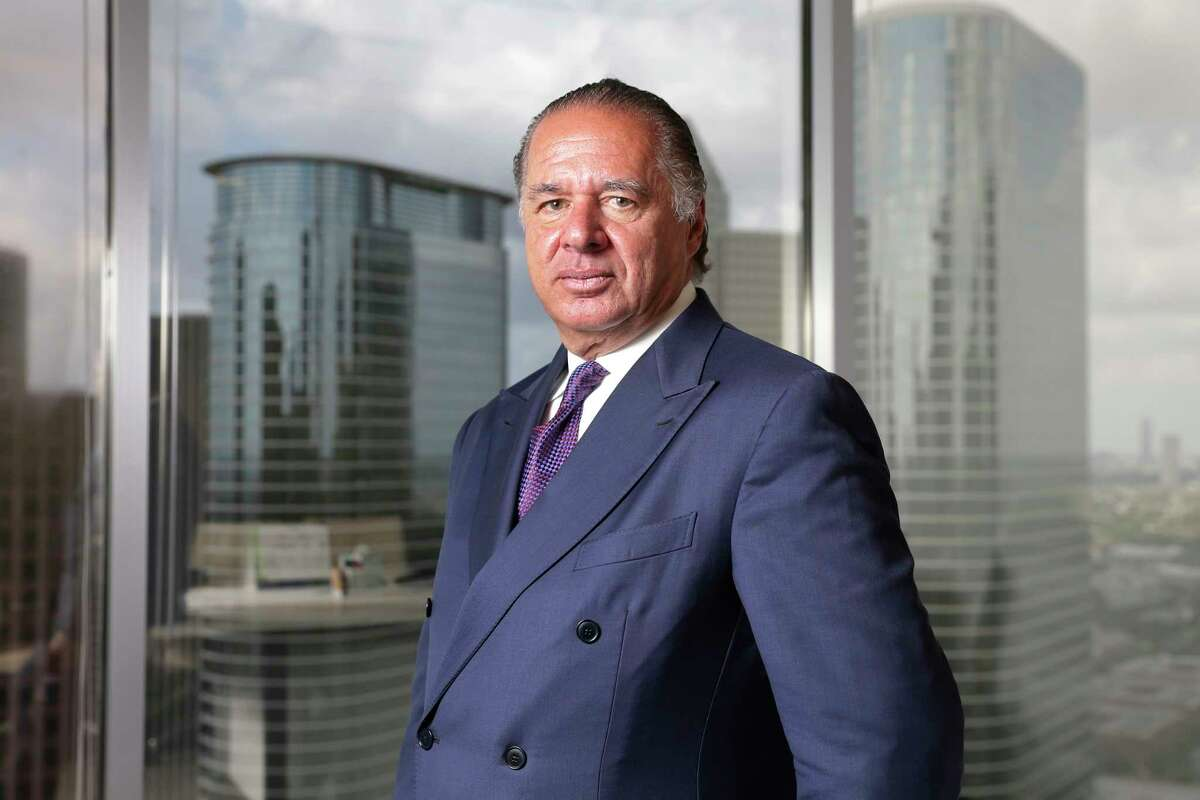 Charif Souki, Chairman of Tellurian LNG at the corporate officesin Houston, TX.