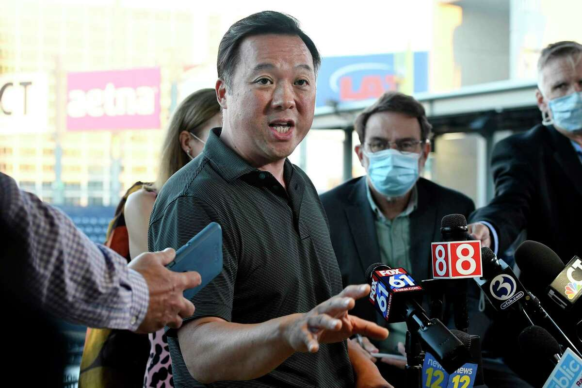 Connecticut Attorney General William Tong on Tuesday, June 29, 2021, announced a $14,982,081 settlement against Ramil Mansourov, a former Norwalk, Conn., physician.