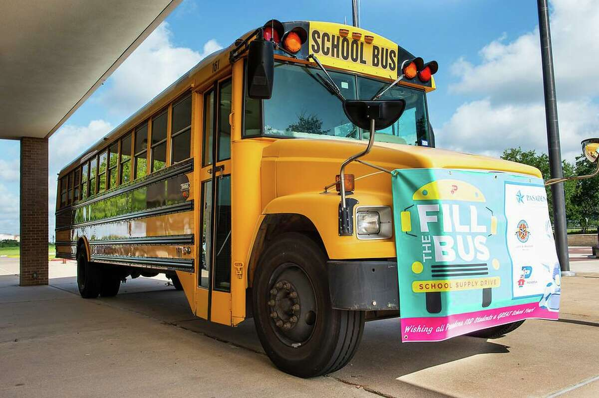 Fill the Bus is an initiative that hopes to give students and teachers in Pasadena ISD the supplies needed to be successful in the classroom.