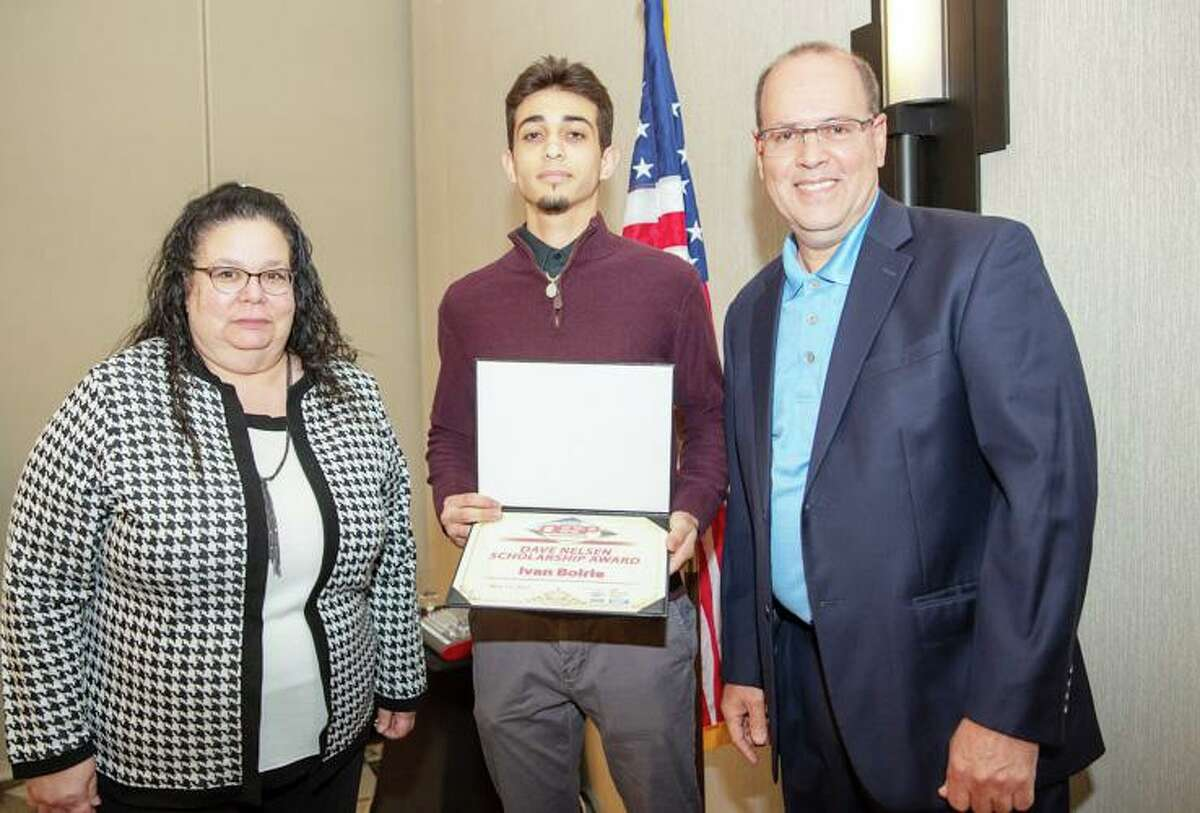The National Association of Oil and Energy Service Professionals selected Ivan Boirie of Cromwell as one of the winners of the 2021 Dave Nelsen Scholarship.
