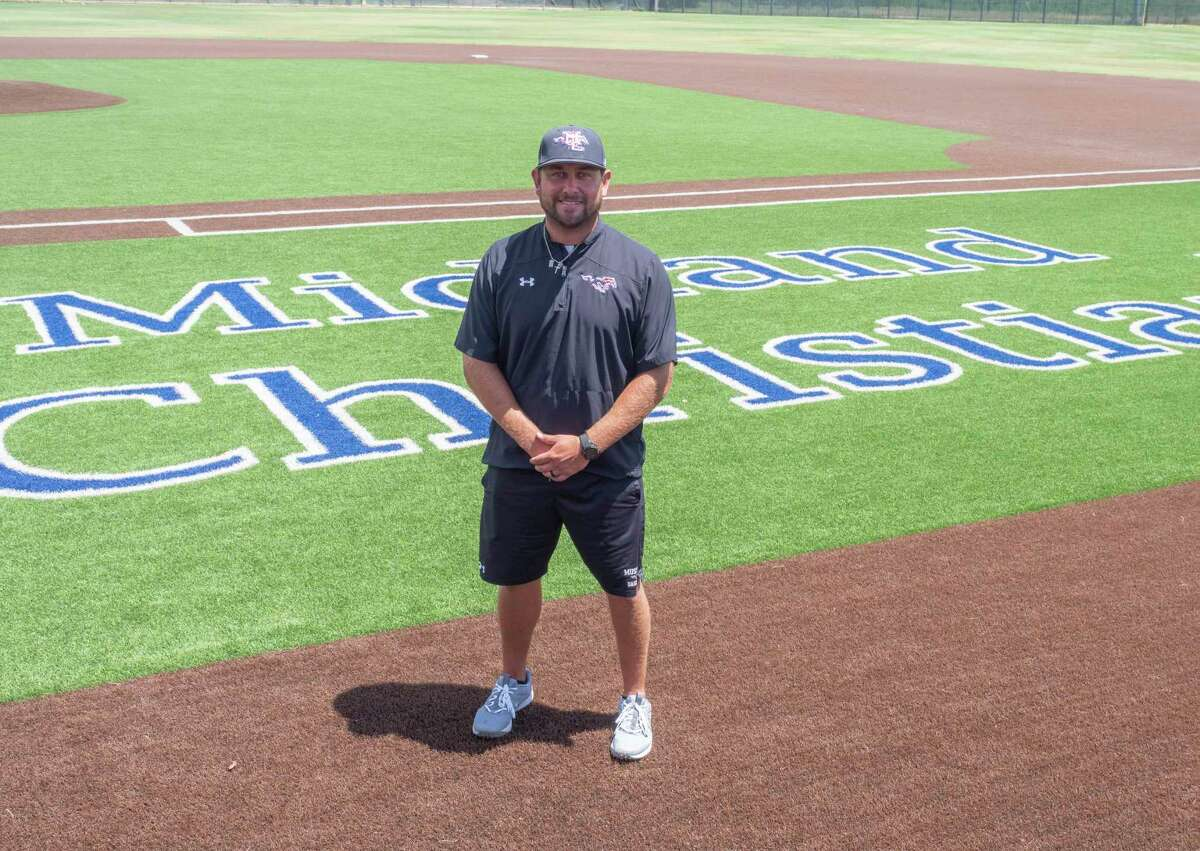 Midland Christian School baseball coach Mike Robles, named MRT coach of the year for 2021. 06/29/2021 Tim Fischer/Reporter-Telegram