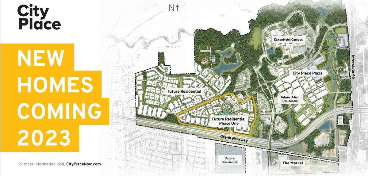 Thousands of new homes are planned in City Place, formerly called Springwoods Village, in Spring. CDC Houston and its partners announced plans for the new residential development during a press conference on June 29, 2021.