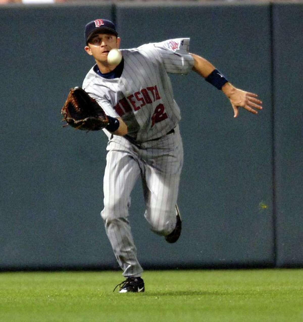 Jason Tyner attended West Brook High School in Beaumont and Texas A&M University. He has played for the New York Mets, Minnesota Twins, Cleveland Indians and Tampa Bay Devil Rays. (AP Photo/Gail Burton)