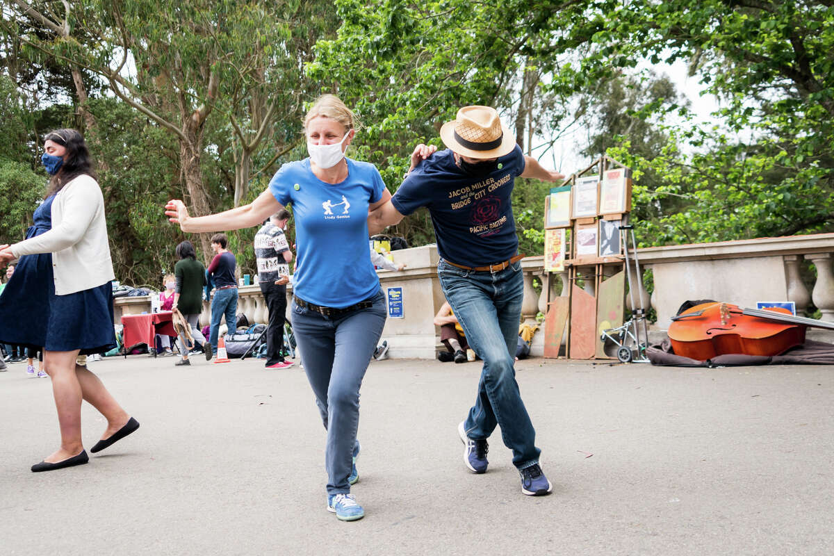 We joined dancers in Golden Gate Park this past Sunday, June 27, 2021, to learn how to
