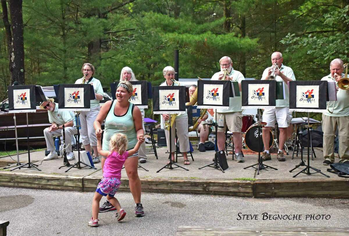 TheSalt City Dixie Jazz Bandwill perform once again at 7 p.m. on Aug. 14 atthe Amphitheater in Ludington State Park as part of theFriends of Ludington State Park's2021 Summer Music & Adventure Programs. (Courtesy photo/Steve Begnoche)