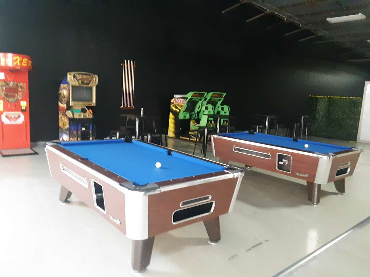 Orion Sports has added two billiard tables along with laser tag and a smash room to its new 8,000-square foot space in the Midland Mall.
